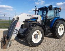 New Holland 8160 + mailleux, M100,M135