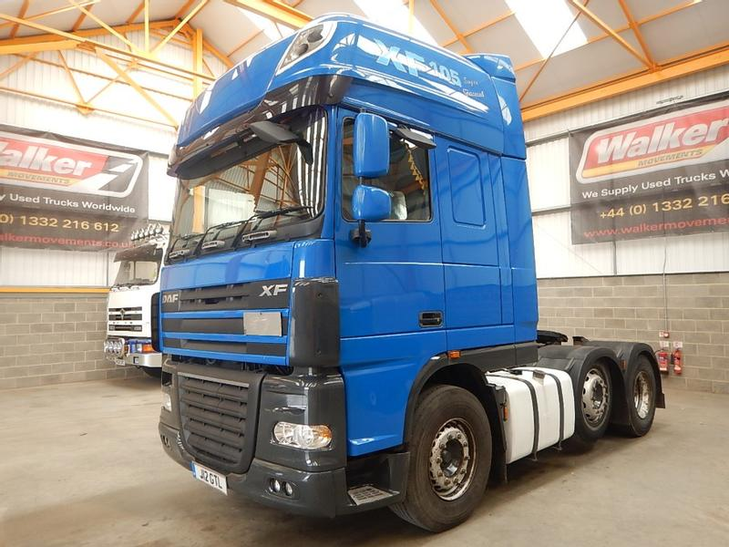 Daf XF105, 460 SUPERSPACE EURO 5, 6 X 2 TRACTOR UNIT - 2008 - J12 GTL