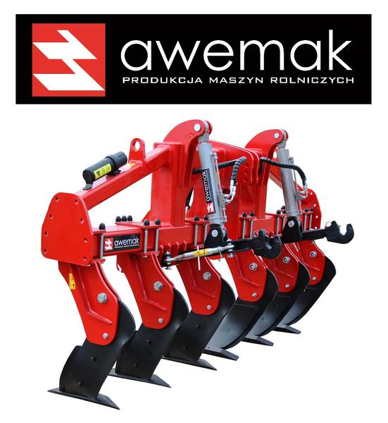 Awemak BEAM SUBSOILER MAMUT GB30.6 michel tines rubber wheels