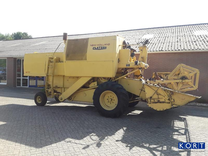 New Holland M133
