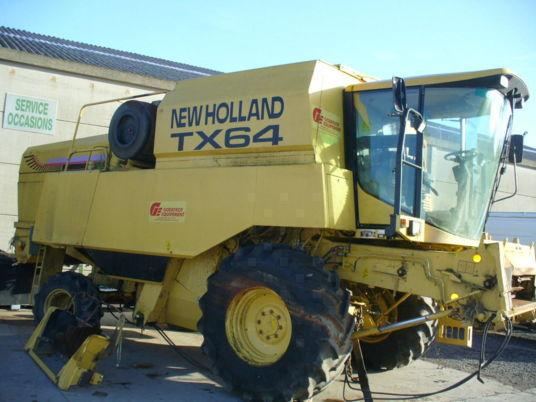 New Holland PIECES OCCASION POUR MOISSONNEUSE-BATTEUSE NEW HOLLAND TX64