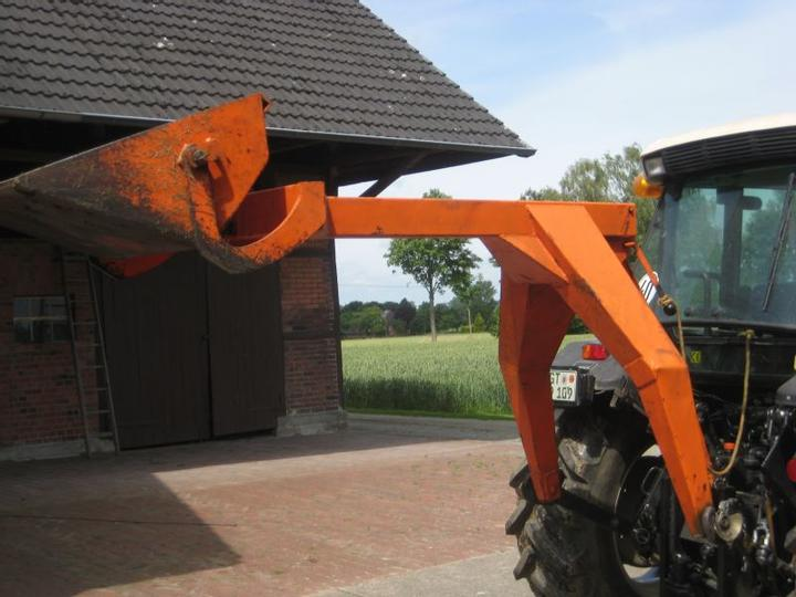 A used rear loader.